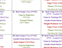 September Employee Wellness Calendar